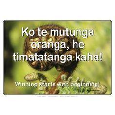 Winning starts
